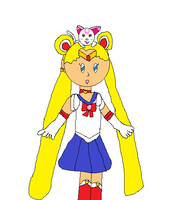 Sailor Moon and Hummy by jlj16