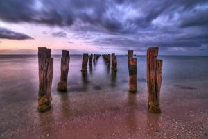Clifton Springs Old Pier by DanielleMiner