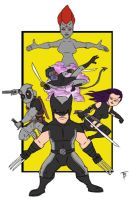 Uncanny X-force by TadBrock