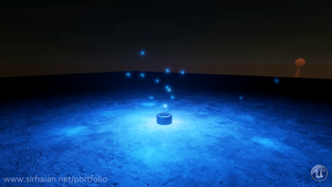 [UE4] Mana Fountain Particles by Sirhaian