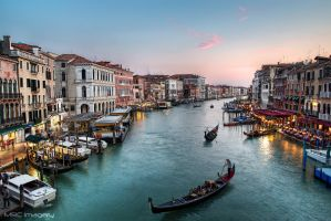 The Grand Canal - Venice by MRC-Imagery
