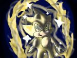Classic Super Sonic by KNUCKLES-HATES-CAKES