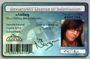Submission Licence XD by Nollaig