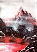 red mountain by LallySvarion