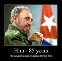 Fidel Castro - 85 years by Mihenator
