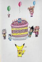 For my Birthday by IperGiratina98