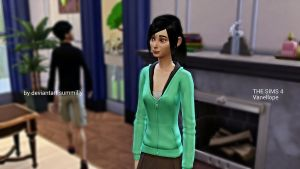 The sims 4 Vanellope by summilly