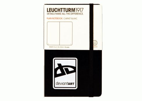 dA Small Notebook by Leuchtturm by deviantWEAR