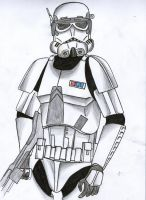 Stormtrooper commander Cody by Funtimes