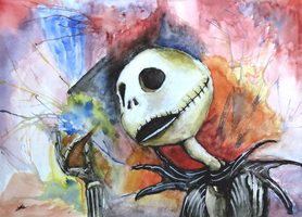 Jack Skellington by chadlindall