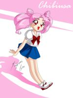 Chibi Usa - Rini by Shinta-Girl