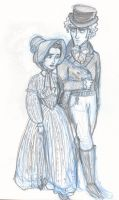 Enjolras and Eponine by Concetta20