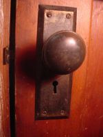 Door Knob Stock Image by AskGriff