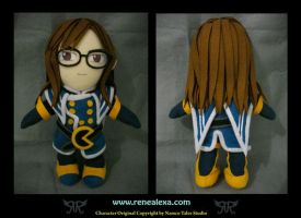 Commission_Jade Curtiss by renealexa-plushie