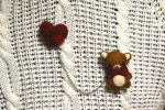 Bear-Heart | Brooch by Rasa-chi