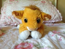 Mattel Young Simba plush by Nala1994