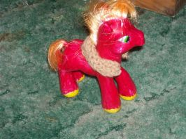 Big Macintosh with harness by catluvr2