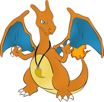 Rex the Charizard by PittheKidIcarus