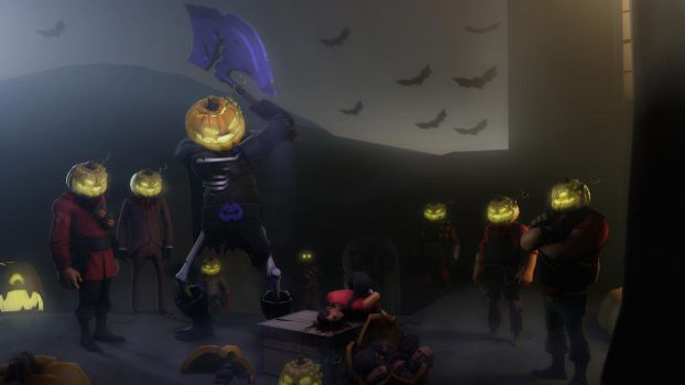 Halloween time, prepare your heads by Deniszizen