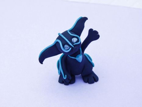 Blue Shadow Gremlin!! by MythicCreations