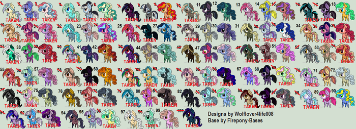 Mega batch by wolflover4life008