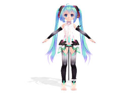 Newcomer: Append Chibi Miku by StarDream1