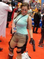 Lara Croft cosplay 2 by SpideyVille