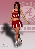 Roll Tide Roll! by donnaDomenitzo