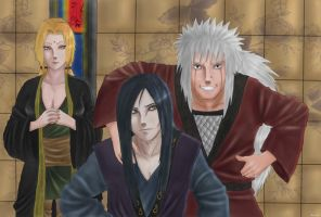 The 3 sannin by rachel-chong