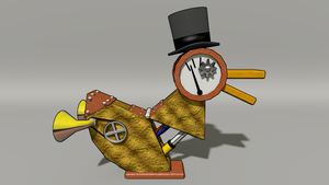 The Steampunk Duck of Power by TheDuckofPower