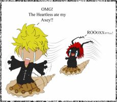 Axel fails at making an attract potion XD by InLoveWithYaoi