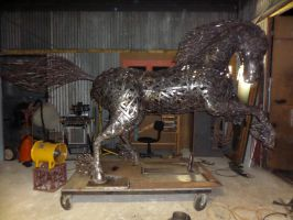 Nearly finished Wild One by sculpture767