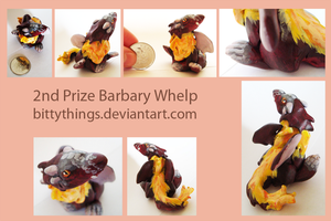 2nd Prize Bitty Barbary by Bittythings