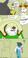 Quilladin Gets the Last Laugh by ZoltronDraws