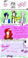 Persona 3 MEME by Strawberry-Syu