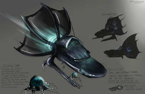 Week 18 - Ships concept by Sophalone