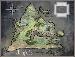 Trifold Map by Wolfpack112