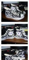 Completed Shoes by MastaAzumarek