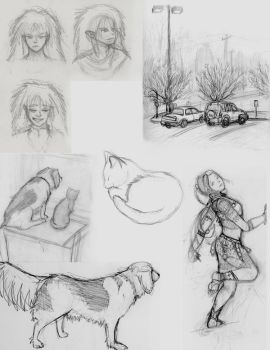 Sketches 3- Misc. continued by MelaniePerry