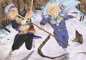 Dissidia Aces: C3/vs. Edgar Roni Figaro by Moehypertunapyun00