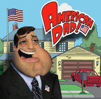 American Dad (Realistic Style) by jesus-at-art