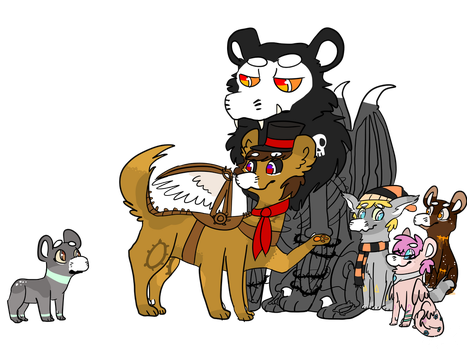 Welcome to the family by WingedSheWolf