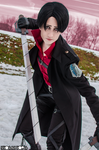 Levi Ackerman - Snk videogame by AerithStrife90