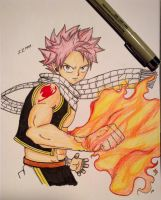 Fairy Tail: Natsu Dragneel by 22PandaBean-89