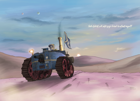 Republic of Mel=Pazel Midium tank Sultan by Waffle0708