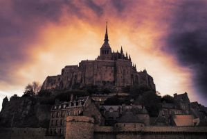 Mont Saint-Michel by hrzn