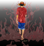 Luffy by Tongiethefox