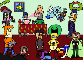 A 2013 Chat Christmas Picture by dorko4u