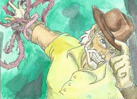 Old Man Joseph Joestar by Infinity-Joe