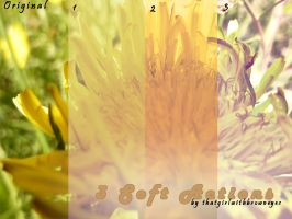 3 soft photoshop actions by ThatGirlWithBrownEye